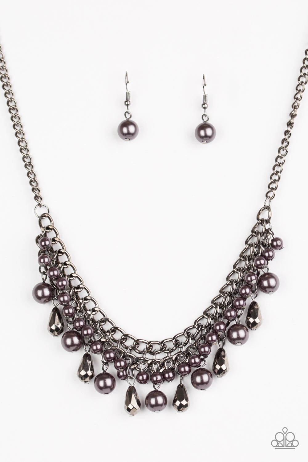 Paparazzi Necklace ~ Imperial Idol - Black