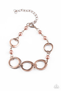 Paparazzi Accessories ~ Poised and Polished - Copper