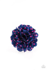 Paparazzi Accessories ~ Polka and Petals - Blue