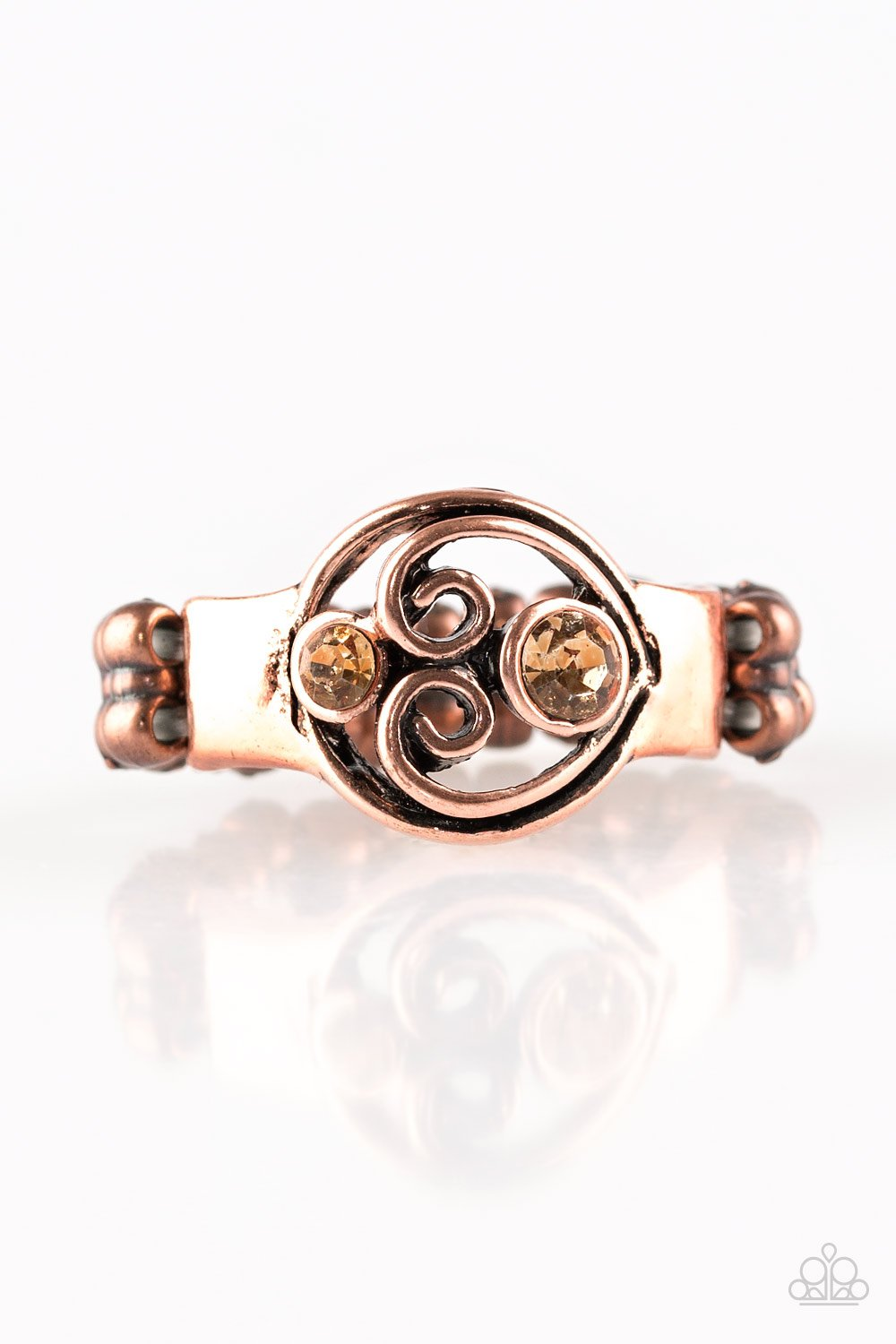 Paparazzi Accessories ~ Oceanic Bliss - Copper