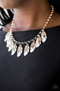 Paparazzi Necklace - Rule The Roost - White
