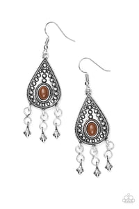 Paparazzi Accessories ~ Sahara Song - Brown