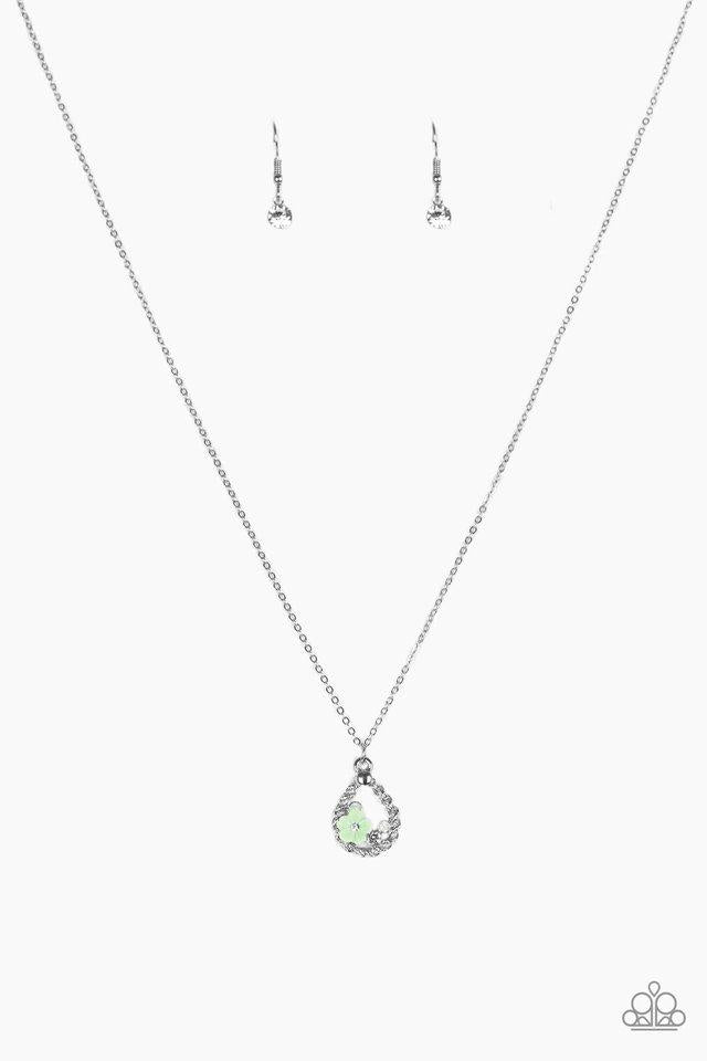 Paparazzi Accessories ~ Serene Spring Showers - Green