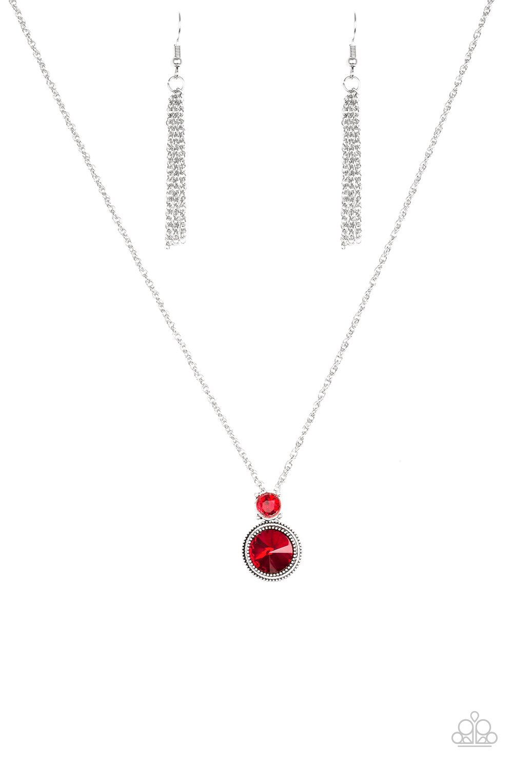 Paparazzi Accessories ~ Date Night Dazzle - Red