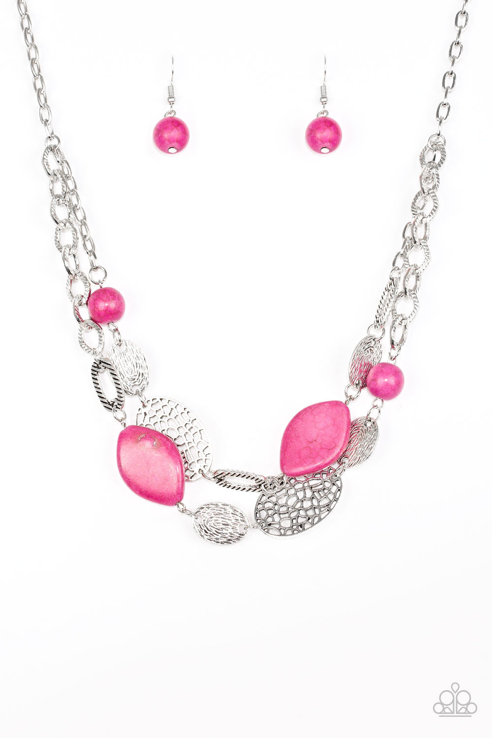 Paparazzi Accessories ~ Second Nature - Pink