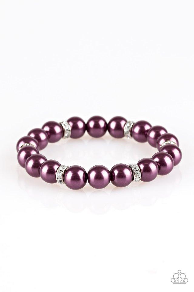 Paparazzi Accessories ~ Exquisitely Elite - Purple