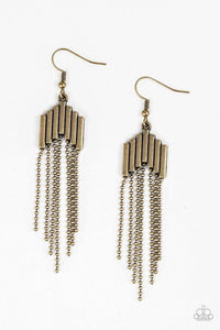 Paparazzi Accessories ~ Radically Retro - Brass