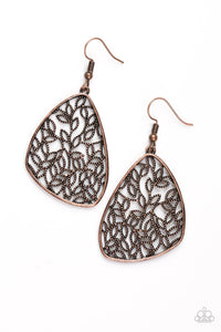 Paparazzi Accessories ~ Time To LEAF - Copper