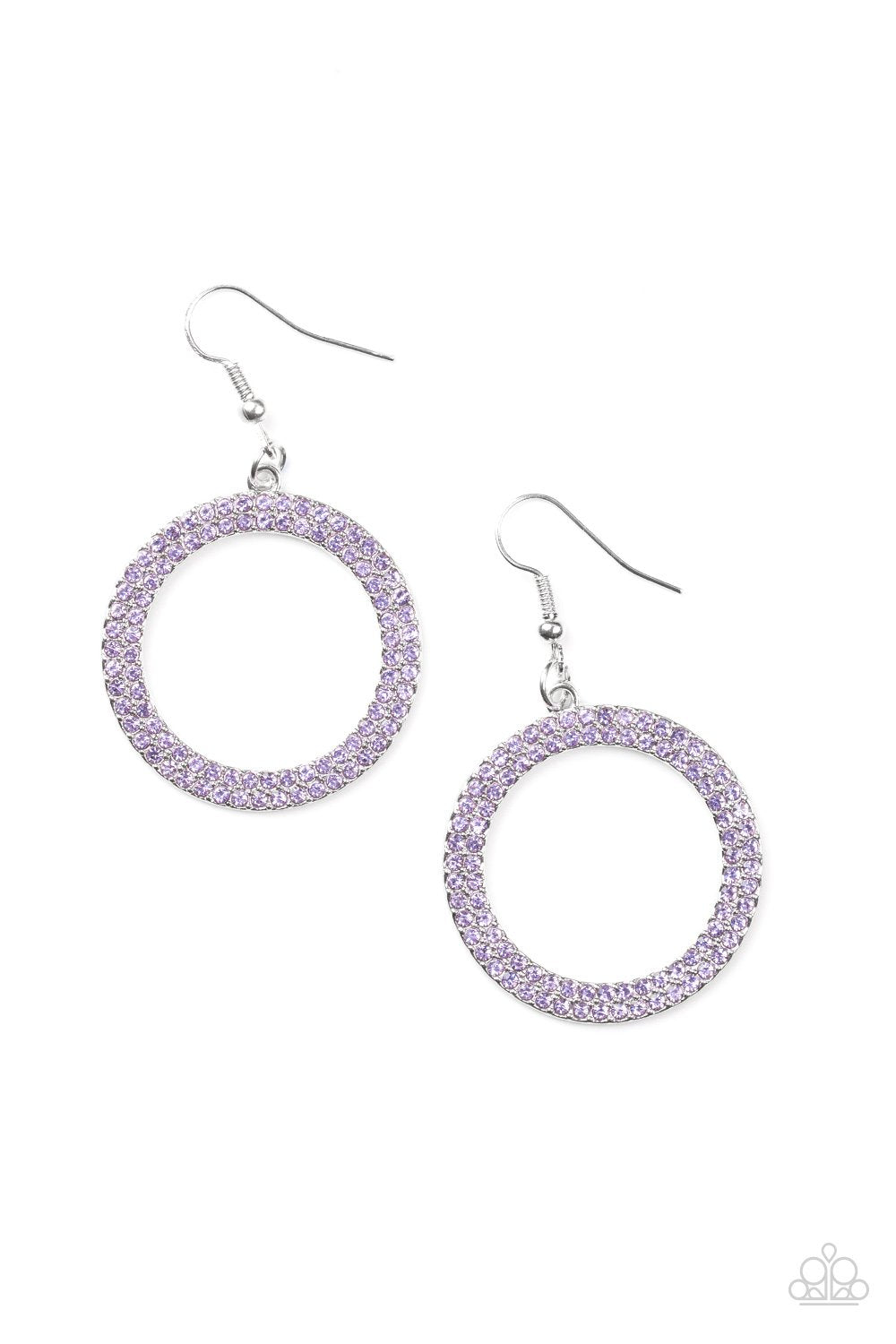Paparazzi Accessories ~ Bubbly Babe - Purple