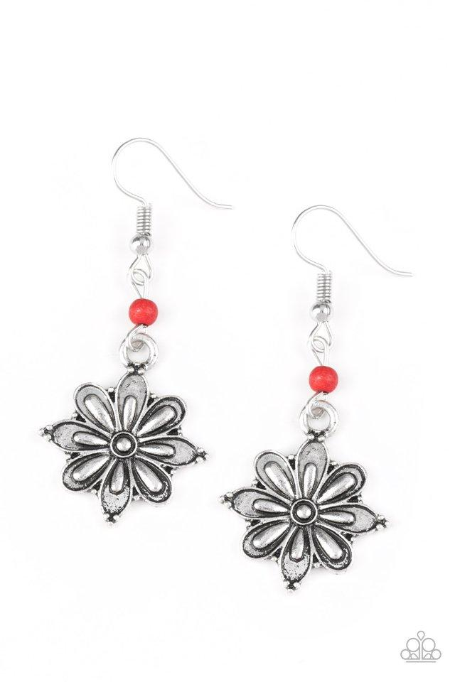 Paparazzi Accessories ~ Cactus Blossom - Red