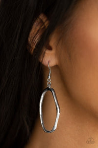 Paparazzi Earring ~ Eco Chic - Silver