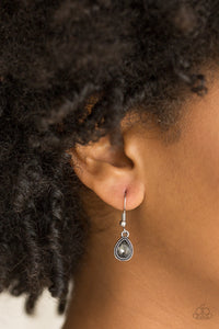 Paparazzi Earring ~ Princess Priority - Silver