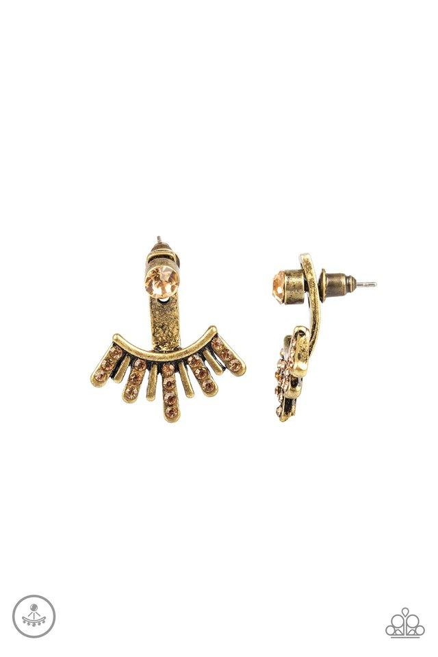 Paparazzi Accessories ~ Diva Dynamite - Brass