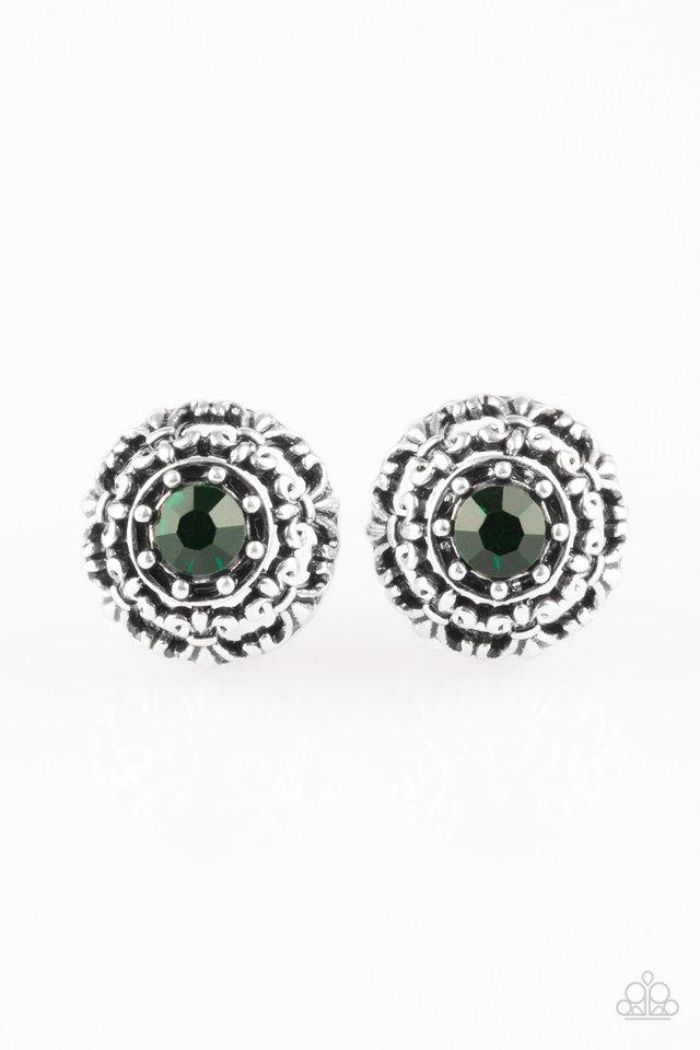 Paparazzi Accessories ~ Courtly Courtliness - Green
