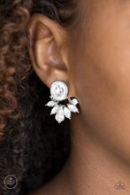 Load image into Gallery viewer, Paparazzi Earrings - Radically Royal - White