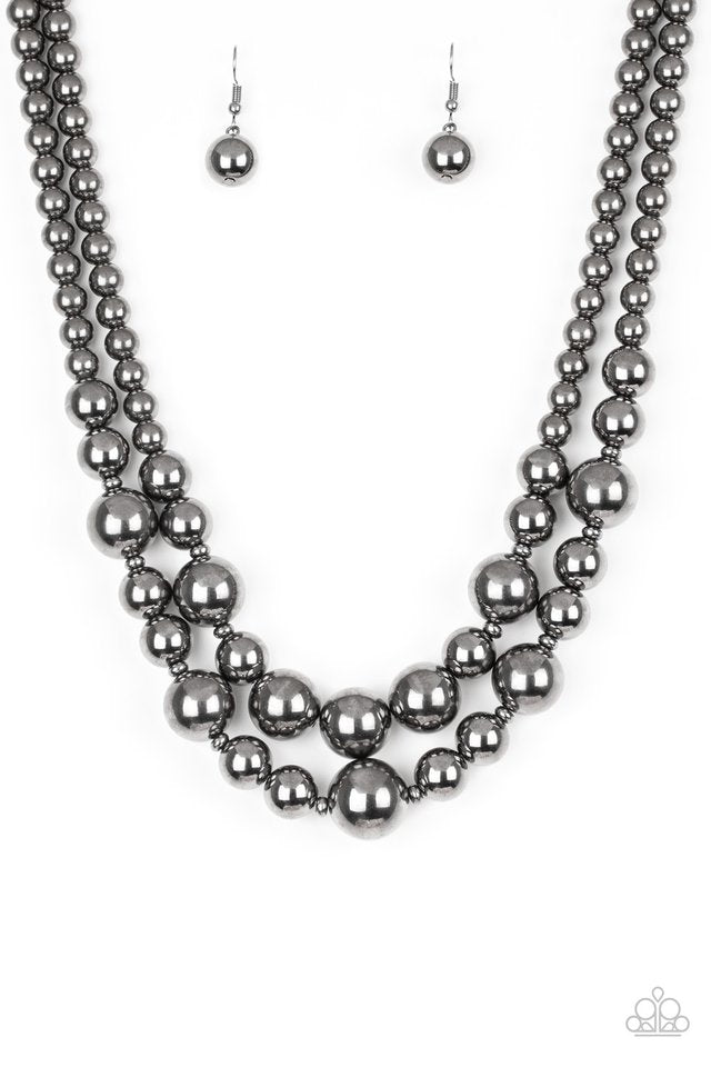 Paparazzi Necklace ~ I Double Dare You - Black