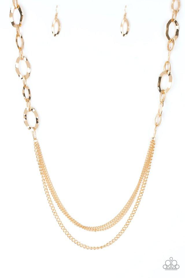 Paparazzi Accessories ~ Street Beat - Gold