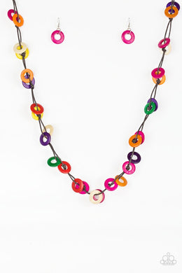 Waikiki Winds - Multi - Paparazzi Necklace Image