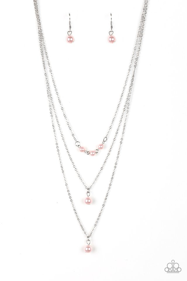 Paparazzi Necklace ~ High Heels and Hustle - Pink