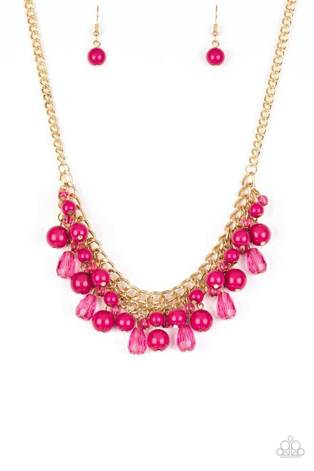 Paparazzi Necklace ~ Tour de Trendsetter - Pink