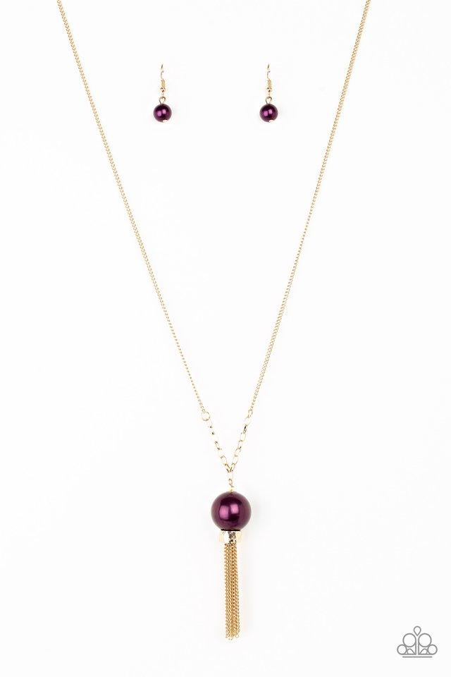 Paparazzi Accessories ~ Belle Of The BALLROOM - Purple