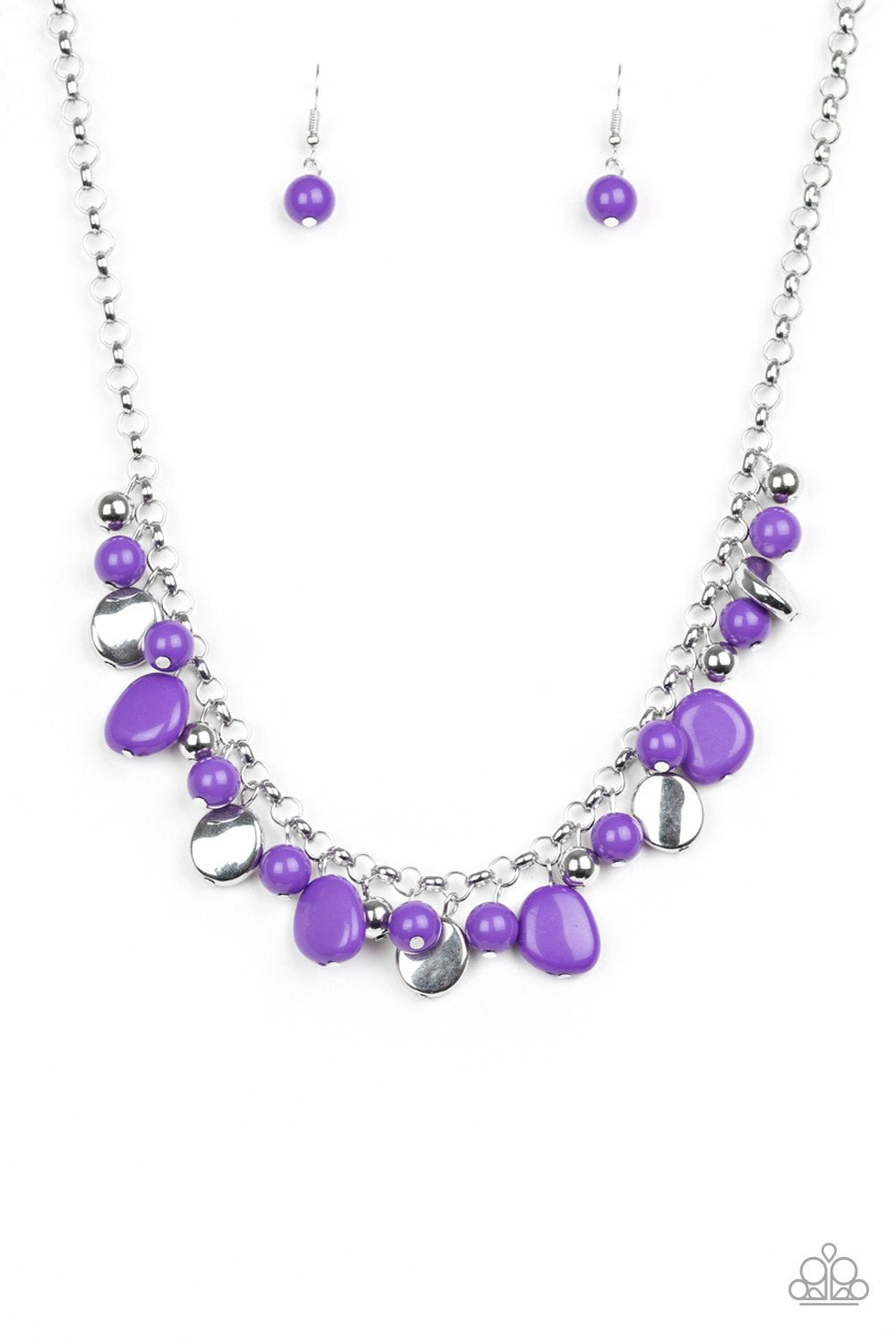 Paparazzi Accessories ~ Flirtatiously Florida - Purple
