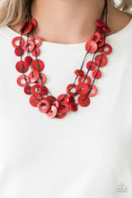 Load image into Gallery viewer, Paparazzi Necklace ~ Wonderfully Walla Walla - Red