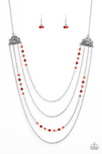Paparazzi Accessories ~ Pharaoh Finesse - Red