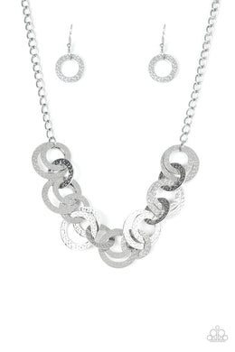 Treasure Tease - Silver - Paparazzi Necklace Image