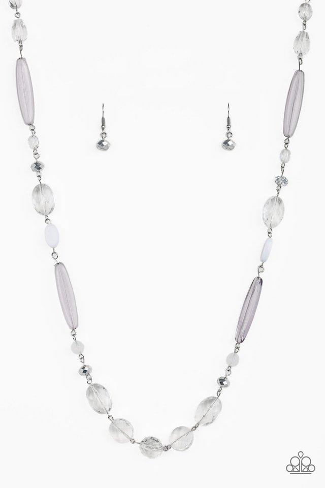 Paparazzi Necklace ~ Quite Quintessence - White