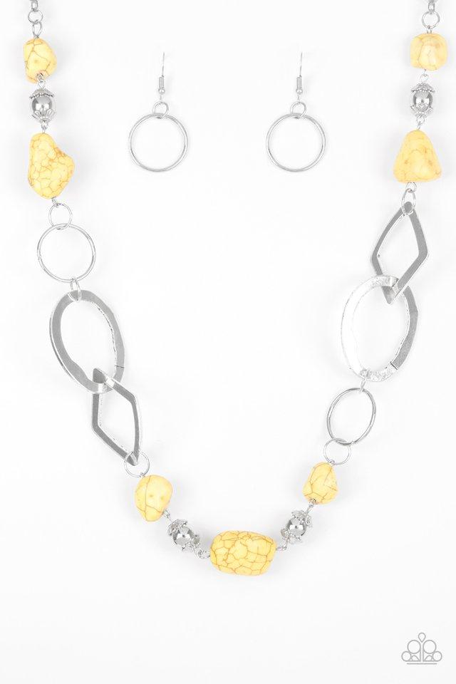 Paparazzi Accessories ~ Thats TERRA-ific! - Yellow