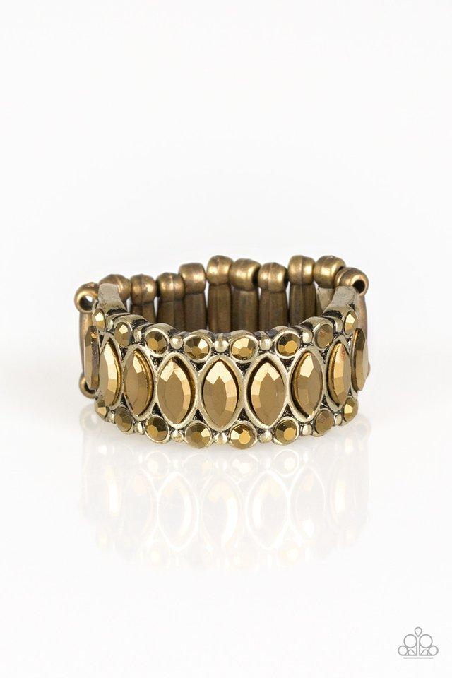 Paparazzi Accessories ~ Radical Riches - Brass