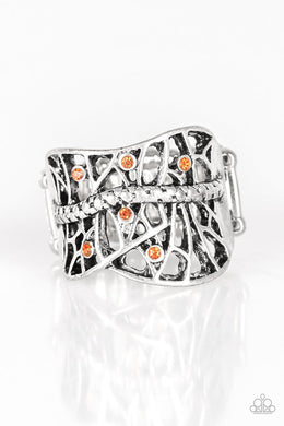 Stage Struck - Orange - Paparazzi Ring Image