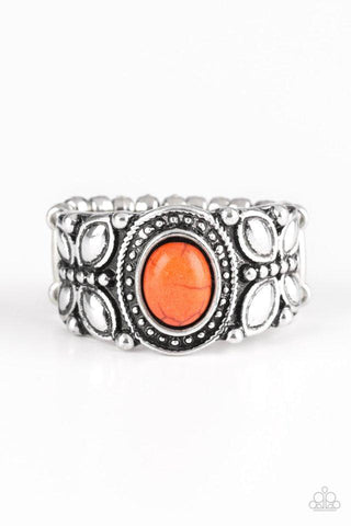 Orange Paparazzi Rings