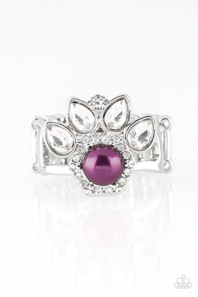 Paparazzi Accessories ~ Crown Coronation - Purple