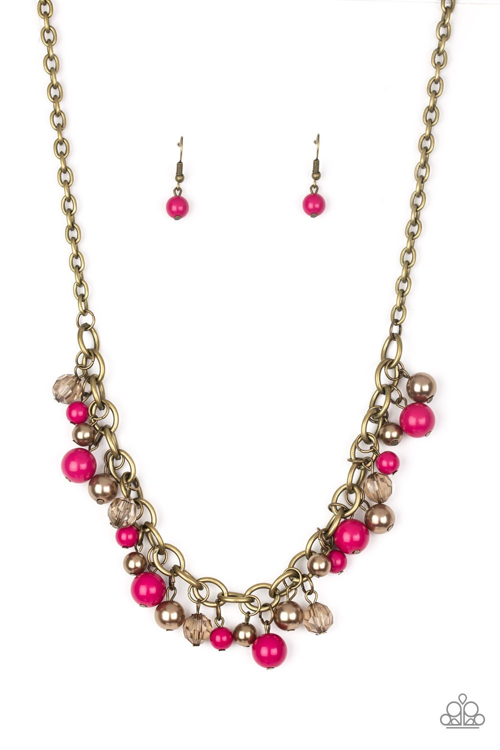 Paparazzi Accessories ~ The GRIT Crowd - Pink