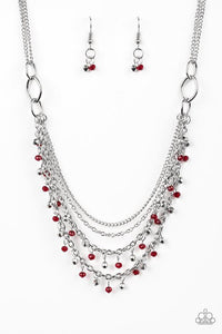 Paparazzi Accessories ~ Financially Fabulous - Red