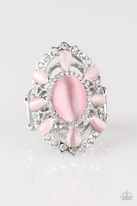 Paparazzi Accessories ~ Over The MOONFLOWER - Pink