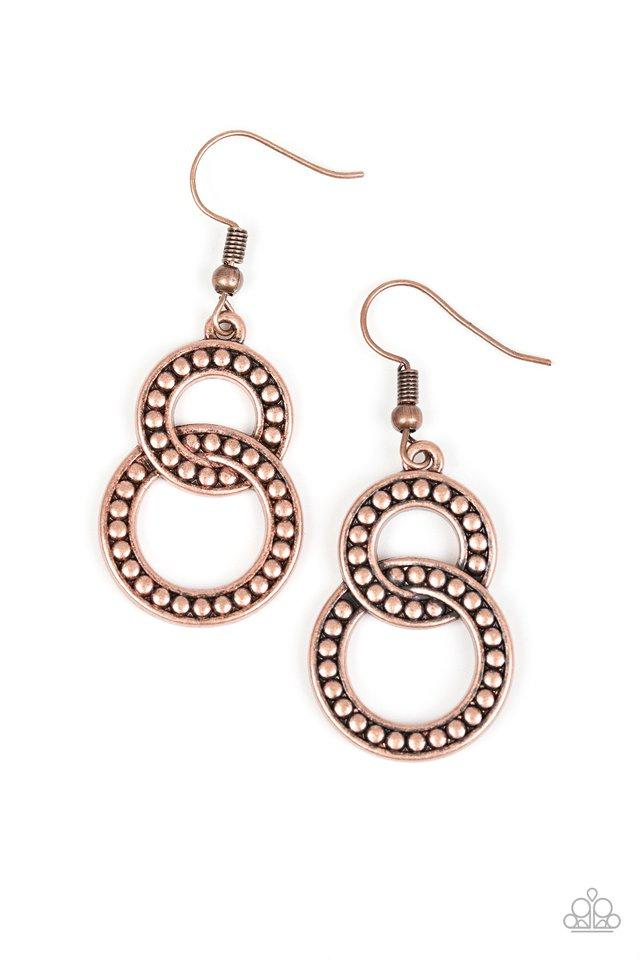 Paparazzi Accessories ~ Perfect ZEN - Copper