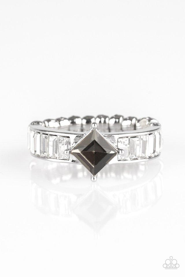 Paparazzi Ring ~ Elegantly Ever After - Silver