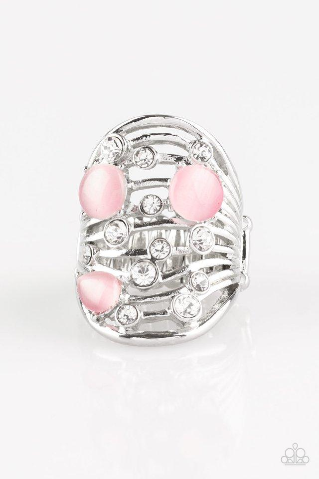 Paparazzi Ring ~ Clear The SWAY! - Pink