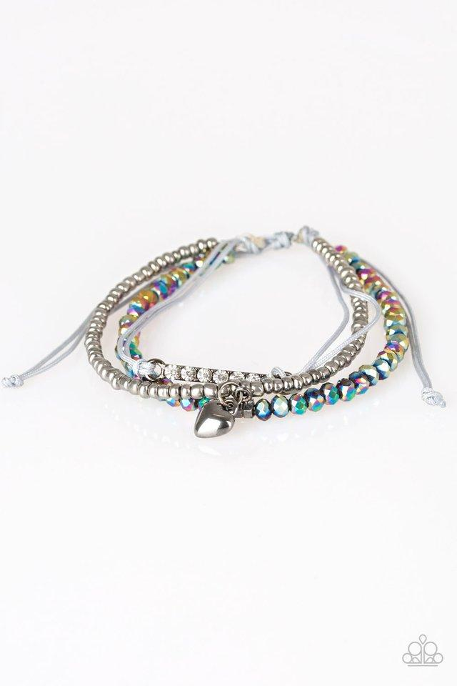 Paparazzi Bracelet ~ Reckless Romance - Multi