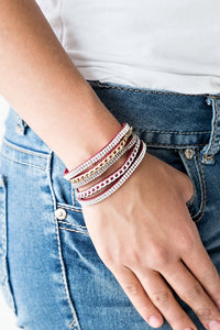 Fashion Fiend - Red - Paparazzi Bracelet Image