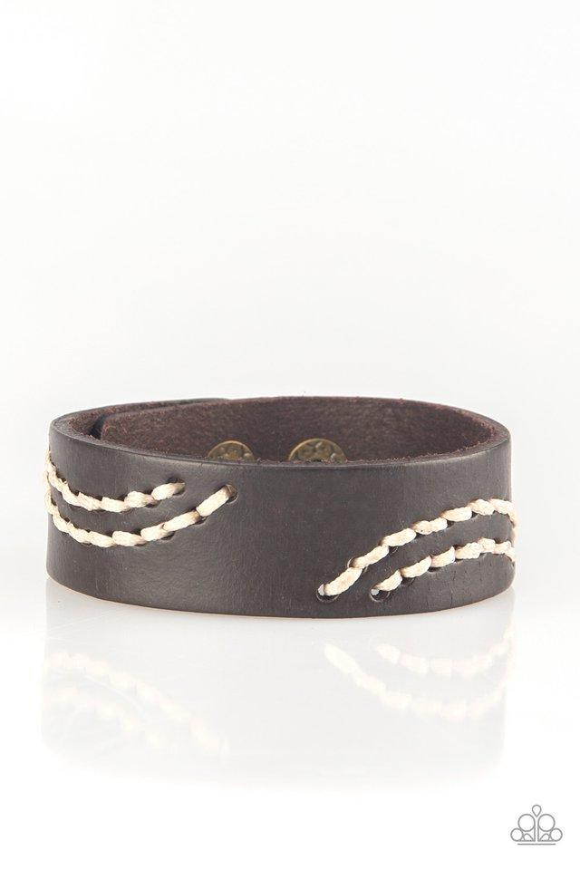 Paparazzi Bracelet ~ Rural Roamer - Brown
