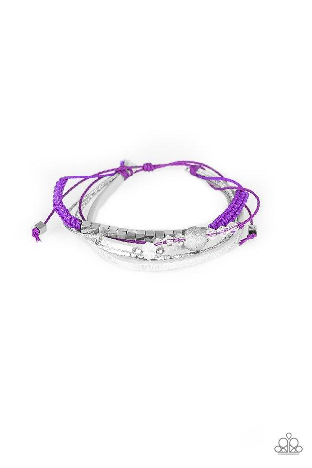 Paparazzi Accessories ~ Take A SPACEWALK - Purple
