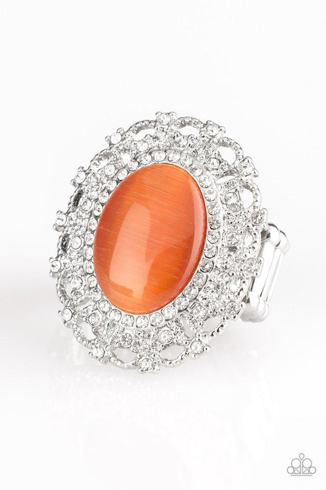 Paparazzi Accessories ~ BAROQUE The Spell - Orange