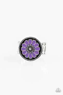 Garden View - Purple - Paparazzi Ring Image