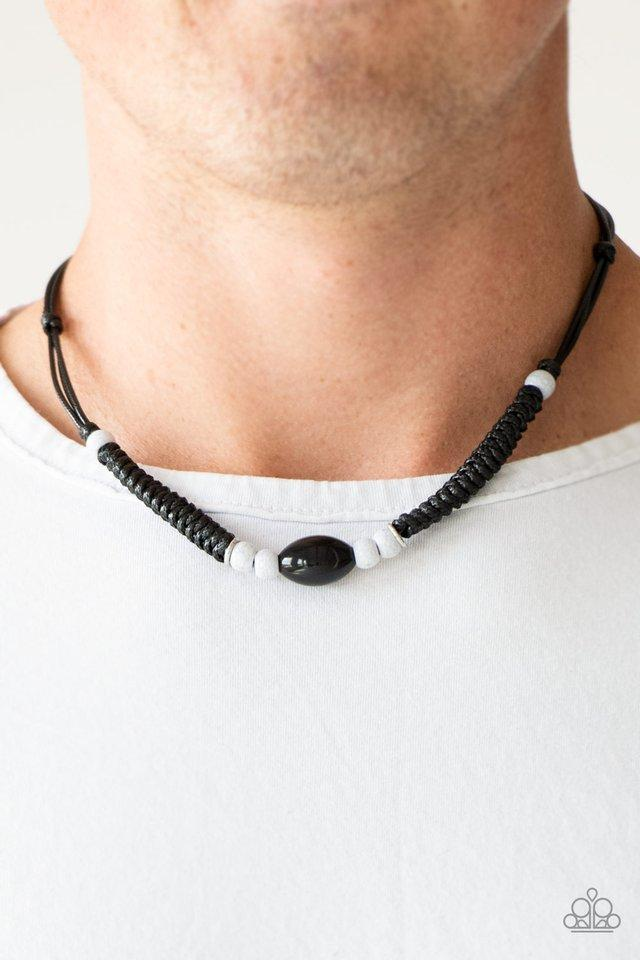 Paparazzi Necklace ~ The Forerunner - Black