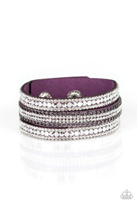 Paparazzi Accessories ~ Fashion Fanatic - Purple