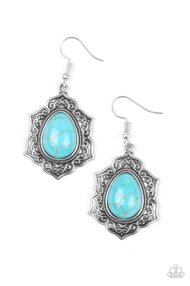 Paparazzi Accessories ~ So Santa Fe - Blue